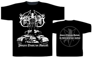 Marduk T-shirts Panzer Division T-shirt
