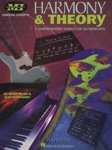 Fiable Harmony & Theory Essential Concepts Une Source Complète Pour Tous Les Musiciens-afficher Le Titre D'origine