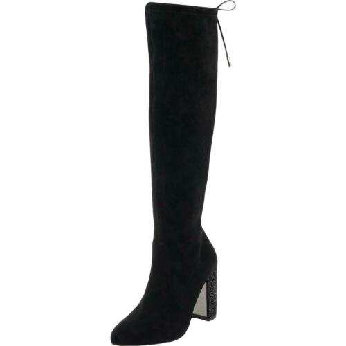 Jewel Badgley Mischka para mujer Rory gamuza alto sobre la rodilla Botas Zapatos BHFO 9763