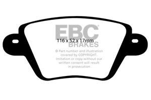 EBC Ultimax Rear Brake Pads for Renault Kangoo 1.6 4x4 (2001 > 09)