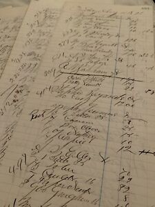 Vintage-Ledger-Paper-Maine-1871-Beautiful-calligraphy-repurposing-Ephemera