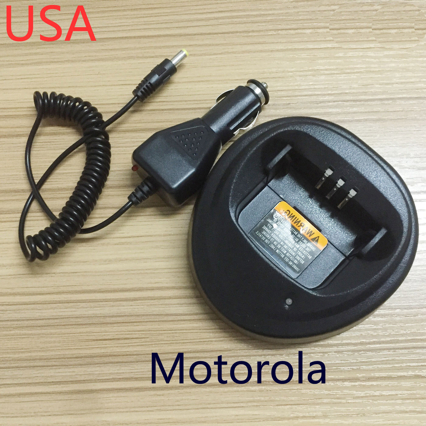12V 24V Car DC Charger Cable For Motorola Radio CP180 CP200 GP3688 PR400 EP450