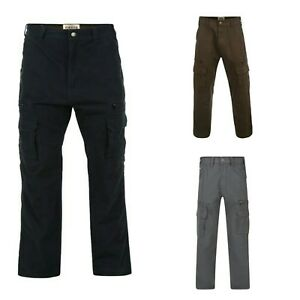 Mens-Kam-Big-Plus-Size-Cotton-Twill-Relaxed-Fit-Combat-Cargo-Pants-Trousers-Size