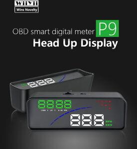 Compteur-de-vitesse-OBD-2-P9-4-6-034-Voiture-hud-Affichage-tete-haute-numerique