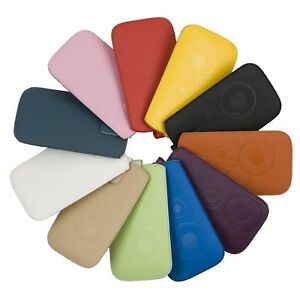 Handy-Tasche-gemustert-passend-fuer-Huawei-G-Play-Mini-Etui-Huelle-Leder-Imitat