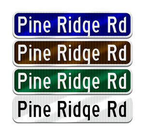 Make Your Own Personalized Custom Street Name Sign 10