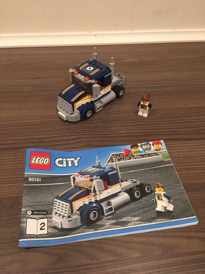 Lego City, Lego nr. 60151 lastbil og racerbil