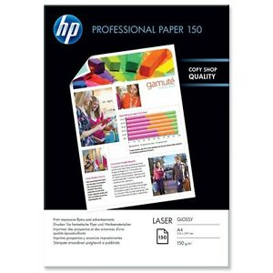 hp professional (a4) glossy laser paper (150 sheets