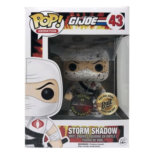 SDCC 2016 Funko POP Storm Shadow Rudy Ramirez Blood Splatter Figure