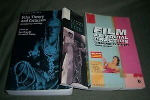 Lot 3 Film Theory And Criticism Film As Social 0195105982 0415215951 Ebay