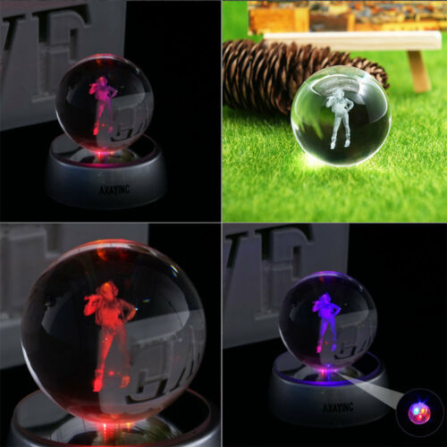 Harley Quinn 3D Crystal Decor Night Light LED Table Lamp Crafts Best Gift