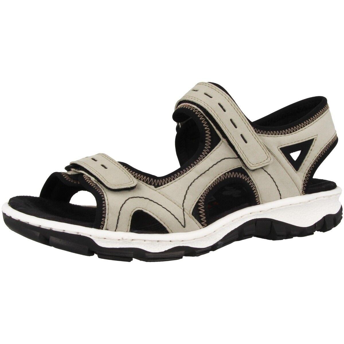 Rieker Buk-Scuba zapatos outdoor outdoor outdoor trekking sandalias anti estrés decorado 68866-61  venta mundialmente famosa en línea