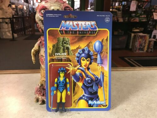 "2017 Super7 ReAction Masters of the Universe EVIL-LYN 4/"" Inch Action Figure MOC"
