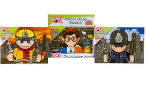 Wooden-Character-Puzzle-Girls-Boys-Toys-Stocking-Filler
