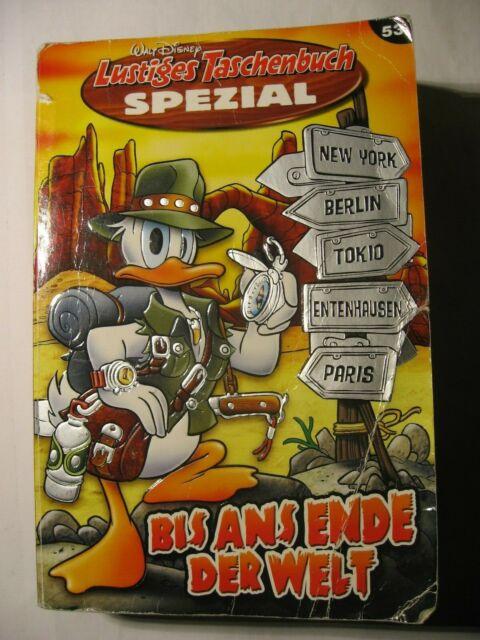 Bis ans Ende der Welt, Lustiges Taschenbuch Spezial, Walt Disney 4196696308509