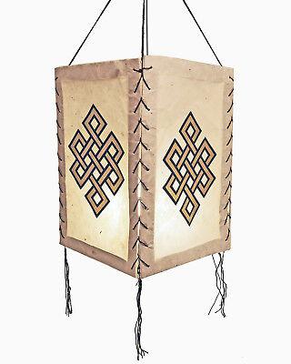 Papierleuchte Papierlampe Lampi Unendlicher Knoten LOKTA Papier Lampenschirm