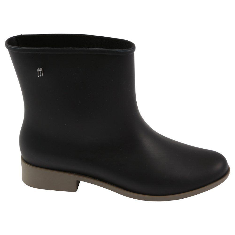 Melissa shoes Mond Staub Stiefeletten, black