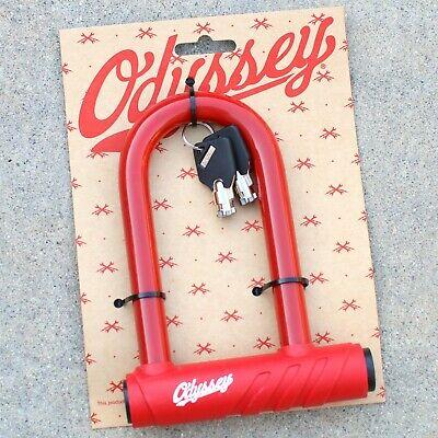 ODYSSEY SLUGGER RED KEYED U-LOCK LOCK
