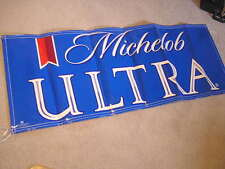 NICE MICHELOB ULTRA BEER BANNER SIGN FROM BUDWEISER  BUDWIESER