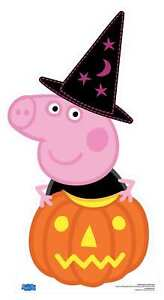 Peppa Pig Halloween Pumpkin Cardboard Cutout Standee Stand Up