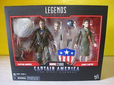 "Marvel Legends 6/"" Captain America Peggy Carter First Avenger 2 Pack 2 DAY SHIP!!"