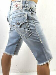 True-Religion-Brand-Jeans-Men-039-s-Ricky-Super-T-Straight-Shorts-102048