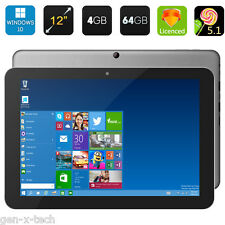 "Chuwi Hi12 12"" Dual OS Windows 10 + Android Tablet PC: 64Gb Rom + 4GB RAM: OTG"