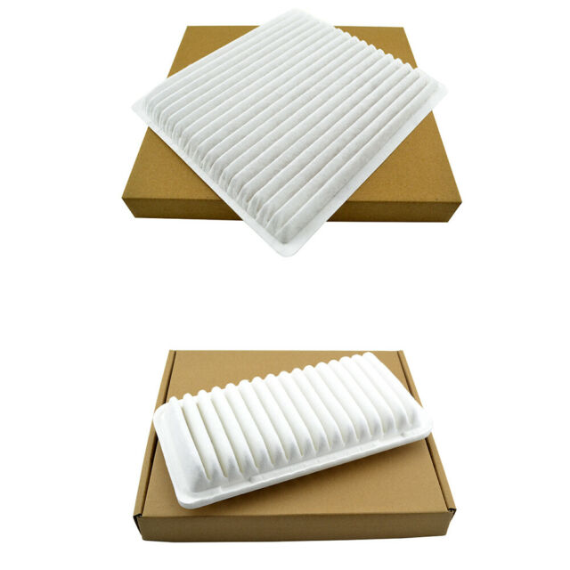 White Engine Air Filter For Toyota Corolla Matrix Accessories Motors Parts Kit