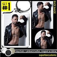 Adam Levine Keychain + Button Or Magnet Or Mirror Maroon 5 Pin Pinback 1059