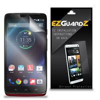 6X EZguardz NEW Screen Protector Shield HD 6X For Motorola Droid Turbo (Clear)