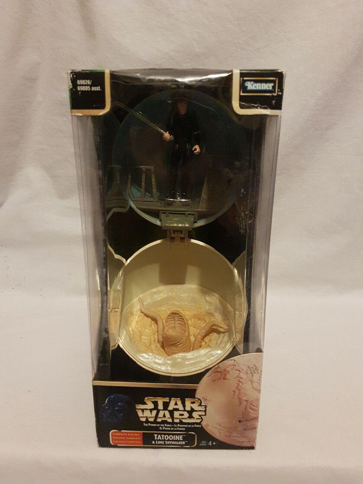 Star Wars Complete Galaxy Tatooine & Luke Skywalker Kenner 1998 Aus Seller