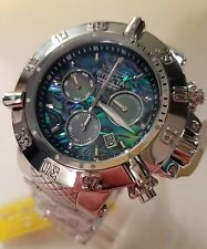 Invicta Subaqua Noma Swiss Chrono Watch Abalone Dial Mother-of-pearl Sub Dials!