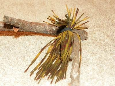 McBASSIN CUSTOM LURES WEEDLESS FINESSE PRO JIG NATURAL CRAW