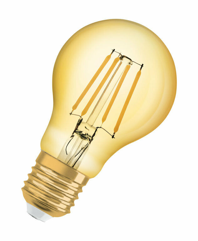 OSRAM VINTAGE 1906 LED CLASSIC A. 220V 4W 2400K E27. 410 Lumen....