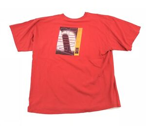 Vintage-90s-Nike-Air-T-Shirt-Double-Sided-Big-Logo-Mens-XL-Red-Tee-Spell-Out