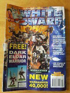 Aimable White Dwarf #226. Free P&p.-afficher Le Titre D'origine éGouttage