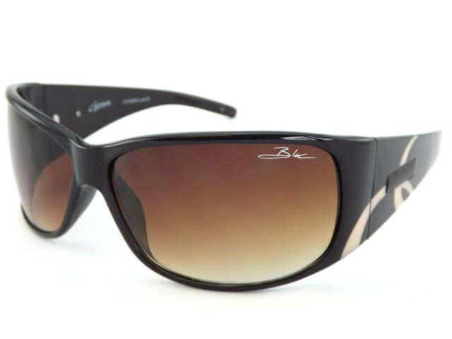 3c59be3773d BLOC - CAPRICORN womens Wrap Sunglasses Choc Brown   Brown Gradient Lens  F216N