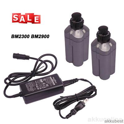 2X Daiwa Tanacom 750 Electric Fishing Reel Battery BM2300 N BM2900  /& Charger US