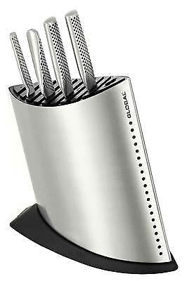 Global Stainless Steel 9 Slot Ship Shape Knife Block RRP $149.95 - NO KNIVES