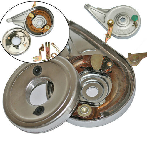 Universal Bicycle Brake Solid Metal Rear Wheel Up Brake Drum Assembly Spare Part