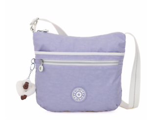 elegant and sturdy package good largest selection of Details about Kipling ARTO Medium Across Body/Shoulder Bag in ACTIVE LILAC  SS19 RRP £67