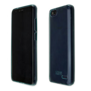 caseroxx-TPU-Huelle-fuer-Gigaset-GS100-in-blau-Displayschutzfolie