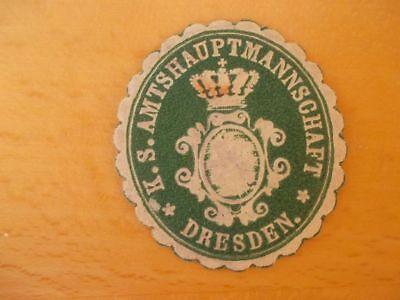 K Hauptamtsmannschaft Dresden Auf Dem Internationalen Markt Hohes Ansehen GenießEn 13951 S Stetig Siegelmarke