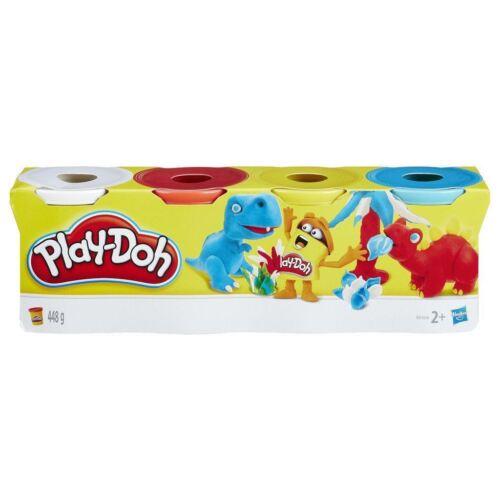 Play-Doh 4 Tub Classic Colours Set