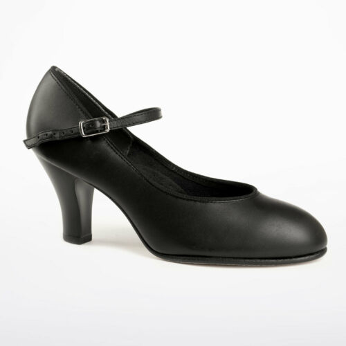 """Capezio 656 3/"""" new yorker theatrical footlight character shoe"""