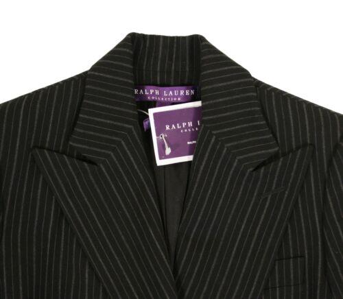 Veste Lauren Boutonnière Double Ralph Purple Blazer Laine Label Noir Neuf BOdC0wq