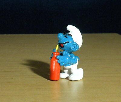 Smurfs Handy Smurf 20171 Tool Box Germany Vintage Figure Schleich Lot PVC Toy