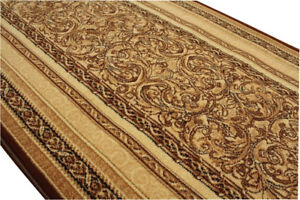 Laeufer-Teppichlaeufer-Standard-Aralia-beige-breite-70-80-100-120-cm-meterware