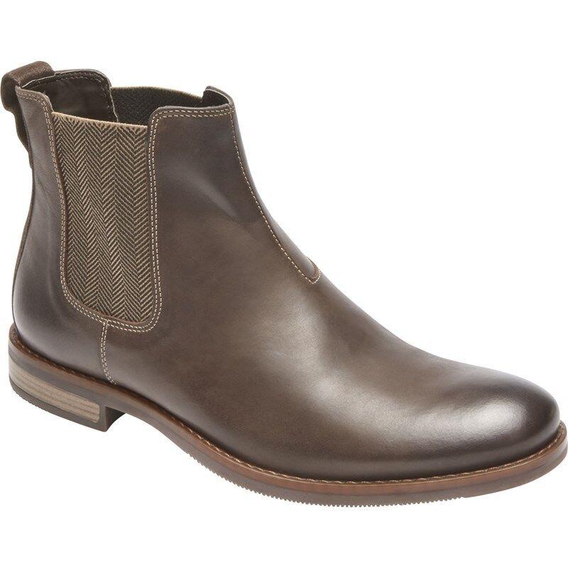 Rockport Wynstin Chelsea Stiefel Dress schuhe Stiefel braun Größe 10.5 M CG7319