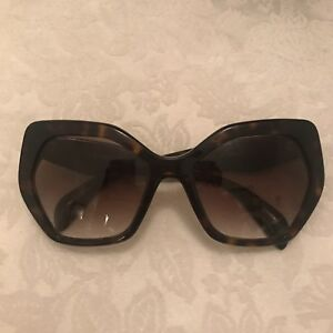 9cd88c5823 Image is loading Genuine-Prada-Womens-Tortoise-Shell-Sunglasses